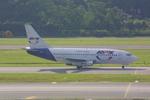 meijeanさんが、シンガポール・チャンギ国際空港で撮影したRPX・リパブリック・エクスプレス・航空 737-2K2C/Advの航空フォト(写真)