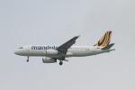 matsuさんが、シンガポール・チャンギ国際空港で撮影したマンダラ・エアラインズ A319-132の航空フォト(飛行機 写真・画像)