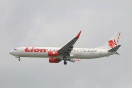 matsuさんが、シンガポール・チャンギ国際空港で撮影したライオン・エア 737-9GP/ERの航空フォト(飛行機 写真・画像)
