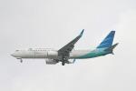 matsuさんが、シンガポール・チャンギ国際空港で撮影したガルーダ・インドネシア航空 737-86Nの航空フォト(飛行機 写真・画像)