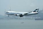しんさんが、香港国際空港で撮影したキャセイパシフィック航空 747-467F/ER/SCDの航空フォト(写真)