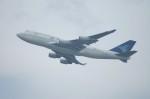 しんさんが、香港国際空港で撮影したガルーダ・インドネシア航空 747-4U3の航空フォト(写真)