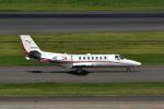 パンダさんが、羽田空港で撮影した読売新聞 560 Citation Encore+の航空フォト(写真)