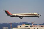 チャーリーマイクさんが、福岡空港で撮影した東亜国内航空 DC-9-41の航空フォト(写真)