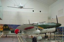 チャーリーマイクさんが、靖国神社 で撮影した靖国神社 D4Y2 Suisei Model 12の航空フォト(飛行機 写真・画像)