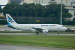 goshiさんが、シンガポール・チャンギ国際空港で撮影したインドネシア・エア・トランスポート A320-212の航空フォト(写真)