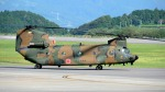 mojioさんが、静岡空港で撮影した陸上自衛隊 CH-47JAの航空フォト(飛行機 写真・画像)