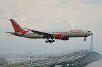 c59さんが、関西国際空港で撮影したエア・インディア 777-237/LRの航空フォト(飛行機 写真・画像)