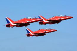 Tomo-Papaさんが、フェアフォード空軍基地で撮影したイギリス空軍 BAe Hawk T1Aの航空フォト(飛行機 写真・画像)