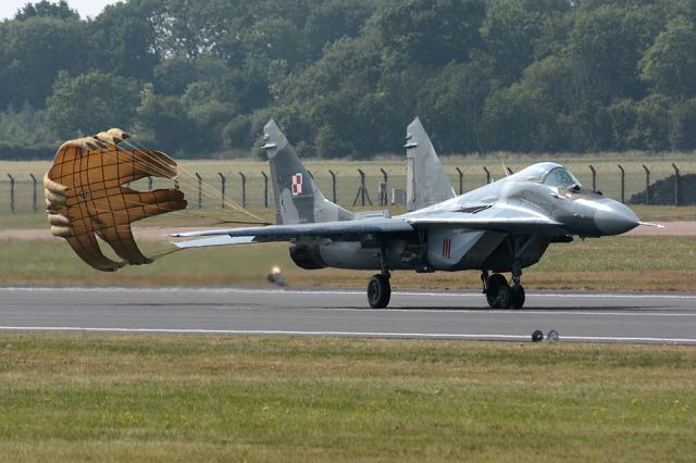 Tomo-Papaさんが、フェアフォード空軍基地で撮影したポーランド空軍 MiG-29Aの航空フォト(飛行機 写真・画像)