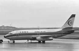 チャーリーマイクさんが、那覇空港で撮影した南西航空 737-2Q3/Advの航空フォト(飛行機 写真・画像)