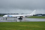 xxxxxzさんが、静岡空港で撮影したハイフライ航空 A340-313Xの航空フォト(写真)
