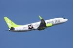 SKYLINEさんが、羽田空港で撮影したソラシド エア 737-81Dの航空フォト(写真)
