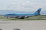 アイスコーヒーさんが、関西国際空港で撮影した大韓航空 747-4B5の航空フォト(写真)