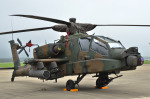 パンダさんが、茨城空港で撮影した陸上自衛隊 AH-64Dの航空フォト(写真)