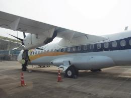 おじゃるまるさんが、マンガロール国際空港で撮影したジェットエアウェイズ ATR-72-500 (ATR-72-212A)の航空フォト(飛行機 写真・画像)
