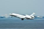 パンダさんが、羽田空港で撮影したUNITED TECHNOLOGIES CORP Falcon 7Xの航空フォト(飛行機 写真・画像)