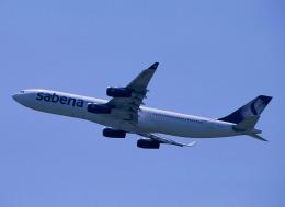 Espace77さんが、成田国際空港で撮影したサベナ・ベルギー航空 A340-311の航空フォト(飛行機 写真・画像)