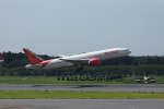 pringlesさんが、成田国際空港で撮影したエア・インディア 777-237/LRの航空フォト(写真)