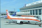 海人9さんが、那覇空港で撮影した日本トランスオーシャン航空 737-446の航空フォト(写真)