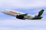 Atsugi R4さんが、ダニエル・K・イノウエ国際空港で撮影したアロハ・エア・カーゴ 737-290C/Advの航空フォト(写真)