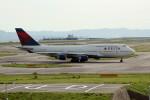アイスコーヒーさんが、関西国際空港で撮影したデルタ航空 747-451の航空フォト(飛行機 写真・画像)
