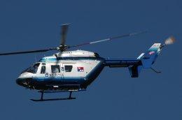 チャーリーマイクさんが、名古屋飛行場で撮影した中日新聞社 BK117C-1の航空フォト(飛行機 写真・画像)