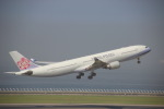 たにへいさんが、中部国際空港で撮影したチャイナエアライン A330-302の航空フォト(写真)