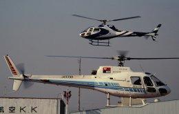 チャーリーマイクさんが、東京ヘリポートで撮影した中日新聞社 AS350Bの航空フォト(飛行機 写真・画像)