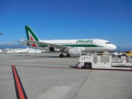 blue_line_skyさんが、トリノ・カゼッレ空港で撮影したアリタリア航空 A319-111の航空フォト(飛行機 写真・画像)