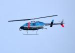 mojioさんが、成田国際空港で撮影した千葉県警察 206L-4 LongRanger IVの航空フォト(飛行機 写真・画像)