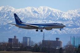 はいぱーのりちゃんさんが、富山空港で撮影した全日空 737-881の航空フォト(飛行機 写真・画像)