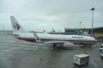 snow_shinさんが、クアラルンプール国際空港で撮影したマレーシア航空 737-8FZの航空フォト(飛行機 写真・画像)