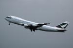 アイスコーヒーさんが、関西国際空港で撮影したキャセイパシフィック航空 747-467F/ER/SCDの航空フォト(飛行機 写真・画像)