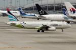 アイスコーヒーさんが、関西国際空港で撮影したエアプサン A320-232の航空フォト(飛行機 写真・画像)