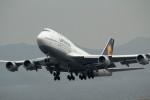 アイスコーヒーさんが、関西国際空港で撮影したルフトハンザドイツ航空 747-430の航空フォト(写真)