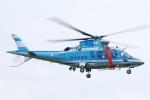 へりさんが、群馬ヘリポートで撮影した群馬県警察 A109E Powerの航空フォト(写真)