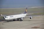 たにへいさんが、中部国際空港で撮影したルフトハンザドイツ航空 A340-311の航空フォト(写真)