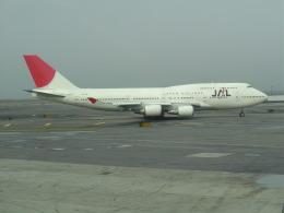 おじゃるまるさんが、ジョン・F・ケネディ国際空港で撮影した日本航空 747-446の航空フォト(飛行機 写真・画像)