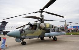Koenig117さんが、ジュコーフスキー空港で撮影したロシア空軍 Ka-52の航空フォト(飛行機 写真・画像)