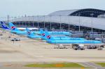 関西国際空港 - Kansai International Airport [KIX/RJBB]で撮影された大韓航空 - Korean Air [KE/KAL]の航空機写真