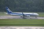しんさんが、シンガポール・チャンギ国際空港で撮影した全日空 767-381/ERの航空フォト(写真)