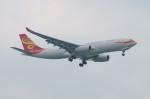 しんさんが、シンガポール・チャンギ国際空港で撮影した香港航空 A330-243Fの航空フォト(写真)