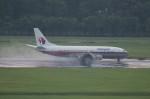 しんさんが、シンガポール・チャンギ国際空港で撮影したマレーシア航空 737-4H6の航空フォト(写真)