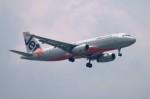 しんさんが、シンガポール・チャンギ国際空港で撮影したジェットスター・アジア A320-232の航空フォト(写真)
