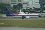しんさんが、シンガポール・チャンギ国際空港で撮影したスリウィジャヤ航空 737-4Q8の航空フォト(写真)