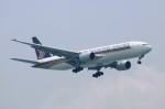 しんさんが、シンガポール・チャンギ国際空港で撮影したシンガポール航空 777-212/ERの航空フォト(写真)