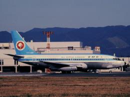 チャーリーマイクさんが、福岡空港で撮影した全日空 737-281/Advの航空フォト(飛行機 写真・画像)
