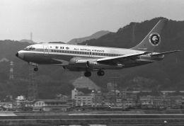 チャーリーマイクさんが、広島西飛行場で撮影した全日空 737-281/Advの航空フォト(飛行機 写真・画像)