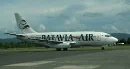 garudaさんが、アジスチプト国際空港で撮影したバタビア航空 737-2T4/Advの航空フォト(飛行機 写真・画像)